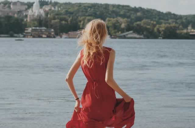 Red-Wrap-Tea-Dress
